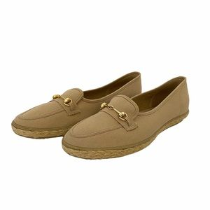 Grasshopper Canvas Slip on Shoe with Gold …
